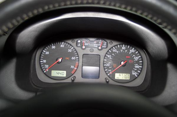 2000 GTI Odometer