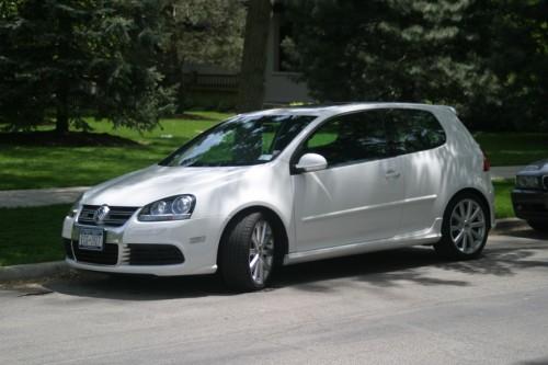 2008 Mk 5 R32, Candy White