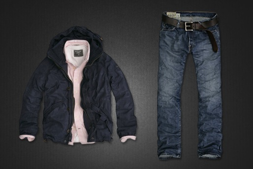 "Abercrombie's ""Rugged Look"""