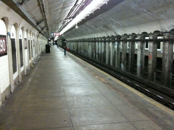 190th Street Station On The A Train in Manhattan/NYC