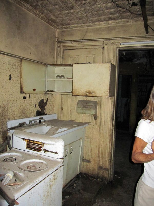 Delapidated Kitchen