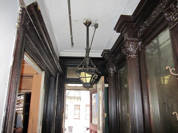 Great woodwork in an old Harlem townhouse wreck