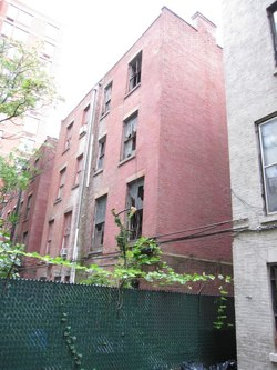 56 West 130th Street Astor Row - rear