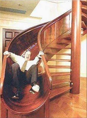 Spiral Stair Slide