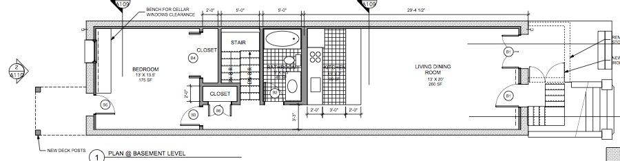 townhouse-basement-rental