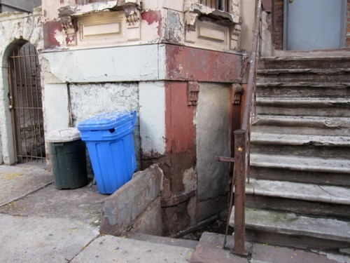 243 West 120th Street stoop