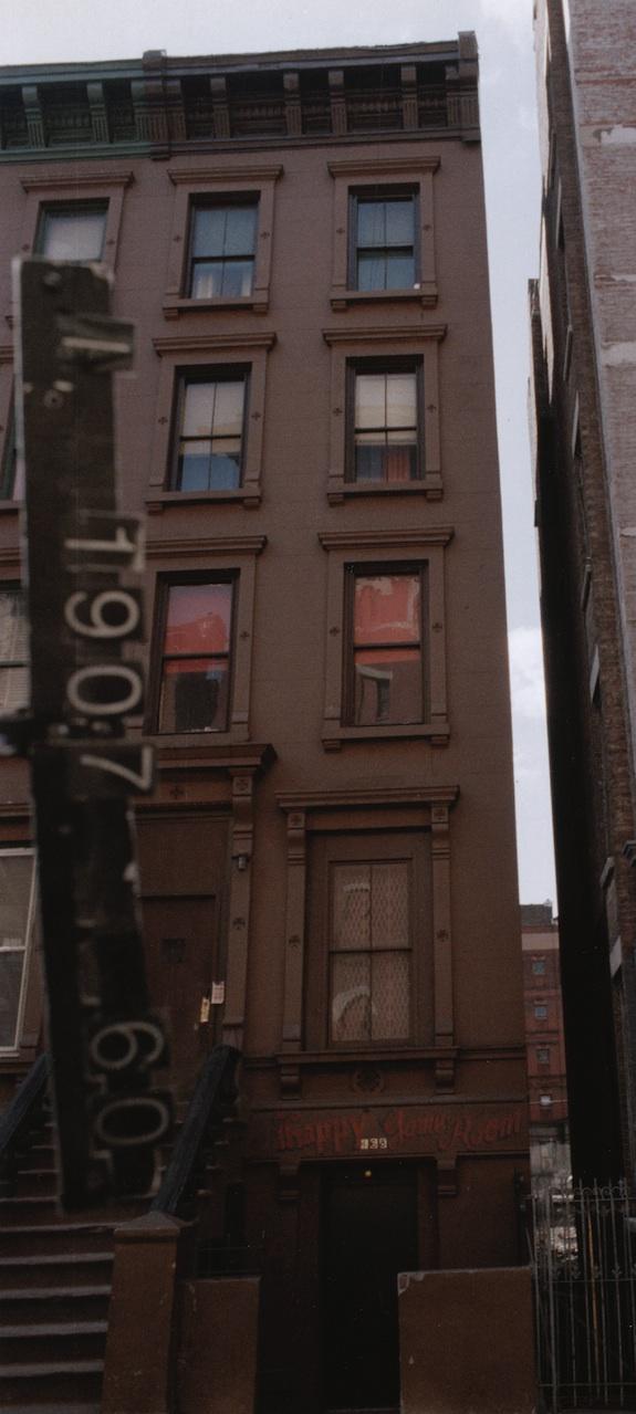 168 West 123rd Street Harlem Brownstone in 1980