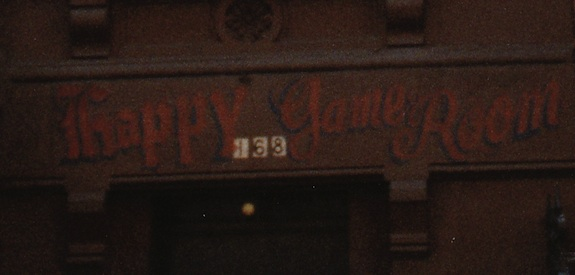 The Happy Game Room - 168 West 123rd Street, NYC, 1980