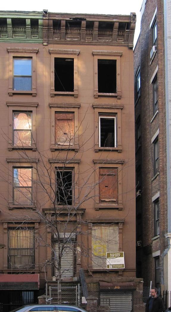 168 West 123rd Street Harlem Brownstone Shell, 2009