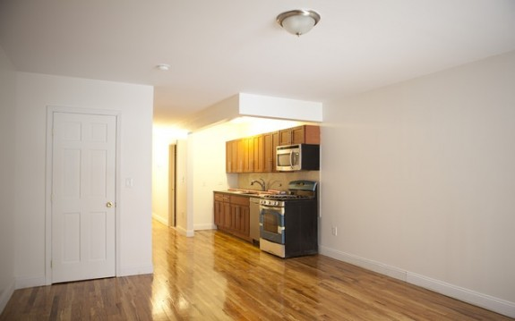 Rental unit's kitchen