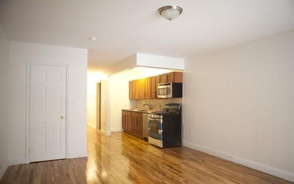 Rental unit's kitchen