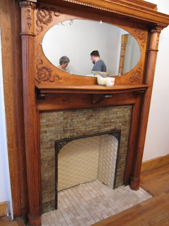 470 West 148 - original fireplace
