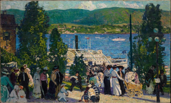 Gifford Beal's The Albany Boat