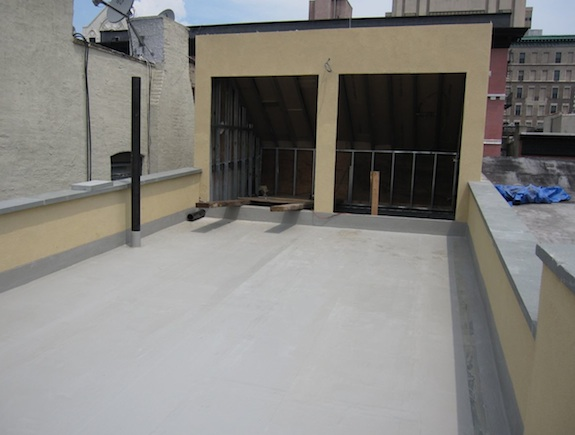 Townhouse roof with Kemper system
