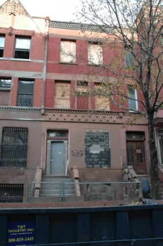 535 West 152 - Harlem Townhouse Shell