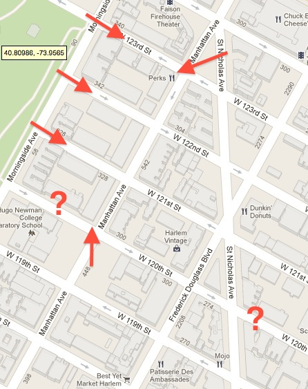 manhattan avenue historic district map