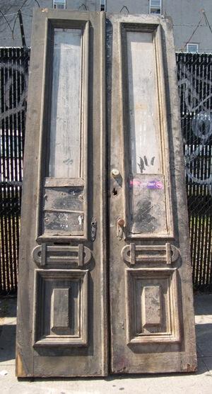 Alternate door to be rehabbed