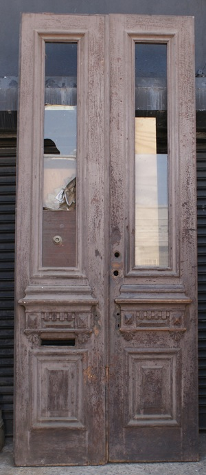 Old townhouse door we'll be restoring
