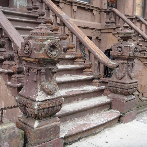 127th Street Newel Posts