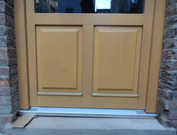 Paneled Gaulhofer door