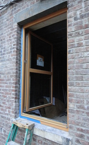 Gauholfer window open like a casement window