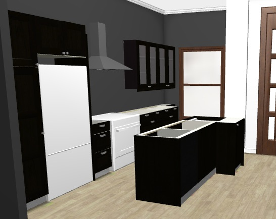 Layout of our kitchen