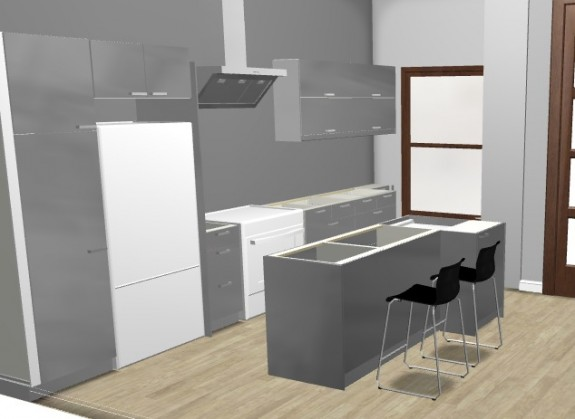Parlor Kitchen Rendering