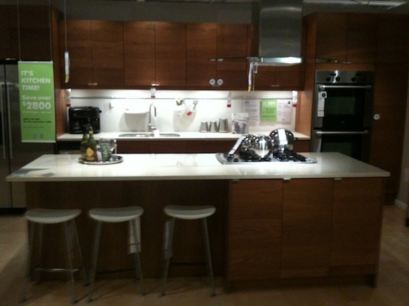 Initial rental kitchen design