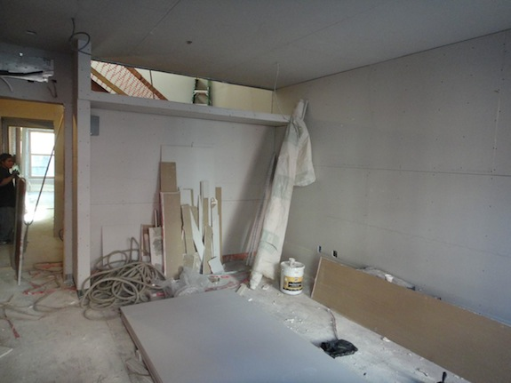 den with drywall