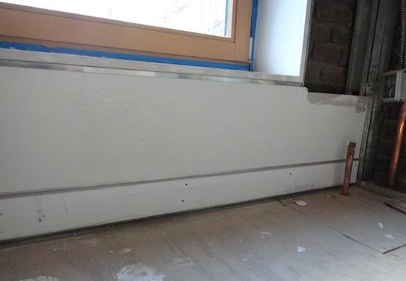 drywall reveals