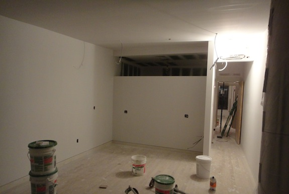 first painted room