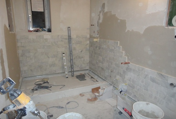 Bathrooms Are Getting Tiled | Beating Upwind