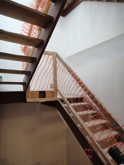 stairs from 3rd to 4th floors