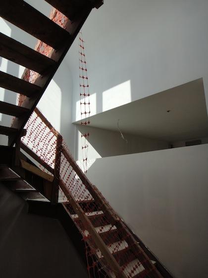 bulkhead casting light on clerestory windows