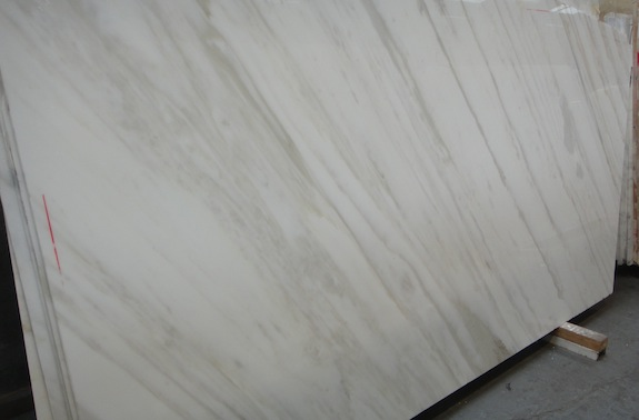 striated marble with gold veins