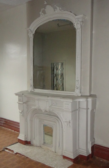 great old fireplace