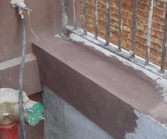 sample brownstone finish